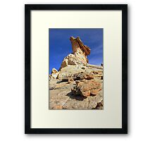 The Stone Dragon Framed Print