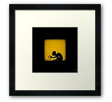 Shadow - My Precious Framed Print