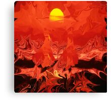 Walking on sunshine+Abstract Art & Products Design  Canvas Print