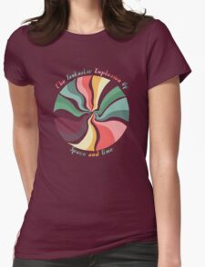 Space And Time Womens Fitted T-Shirt