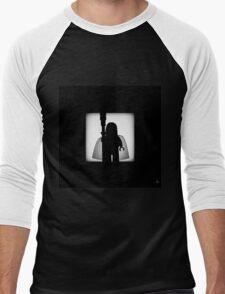 Shadow - The White Men's Baseball ¾ T-Shirt