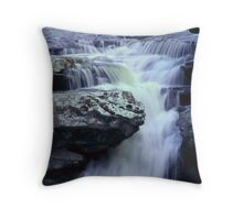 Waterfall by Swallows Cave, September 2010 Throw Pillow