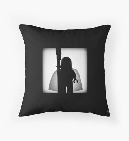 Shadow - The White Throw Pillow