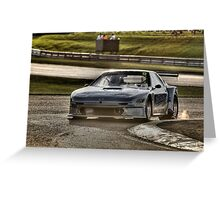 RX7 HDR Greeting Card