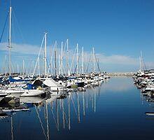 Harbor Blues by sternbergimages