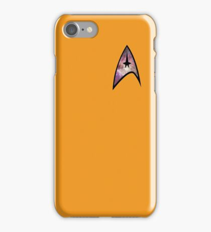 Cosmic Star Trek Insignia in Yellow iPhone Case/Skin