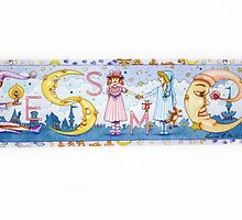 "NAME PLAQUE ""ESME""  by Louise Elisabeth Hunt"