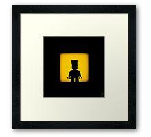 Shadow - Bart Framed Print
