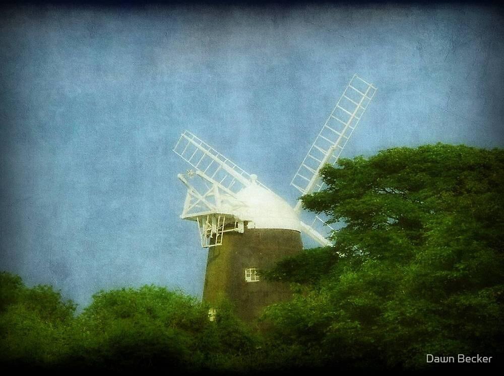 UK-Windmill...Jack ©  by Dawn M. Becker