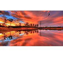 Yellow Sapphire Sunset Photographic Print