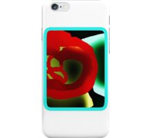 Glowing Hot Peppers  iPhone Case/Skin