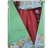 Korean Hanbok Traditional Dress iPad Case/Skin