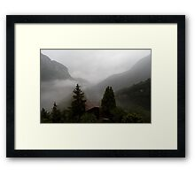 Summer at the Castello Framed Print