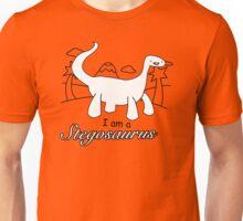 I am a Stegosaurus Funny Dinosaurs T-Shirt & Hoodie Unisex T-Shirt