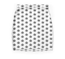 Cannabis logo Mini Skirt
