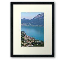 Lake Attersee Framed Print