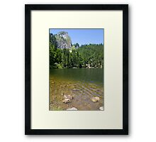 Lake Mönichsee Framed Print