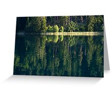 Lake Weissensee Greeting Card
