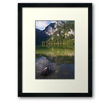 Lake Gleinkersee Framed Print