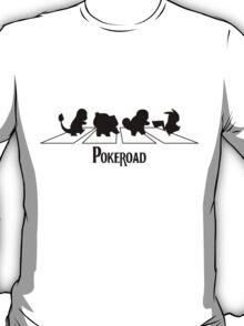 pokemon - Abbey Road - beatles - text T-Shirt