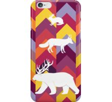 Antlers & Chevrons - Warm iPhone Case/Skin