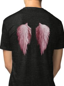 BACKWINGS - Angel Tri-blend T-Shirt