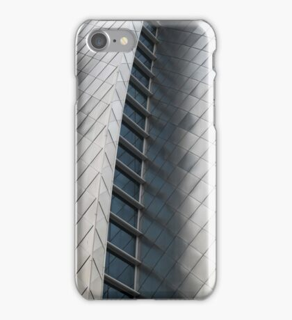 Silver Fish Scale Wall iPhone Case/Skin