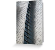 Silver Fish Scale Wall Greeting Card