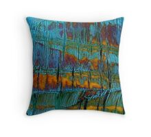 Healing With The Angels Throw Pillow