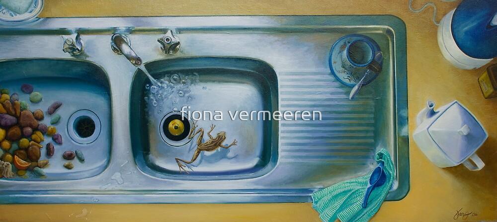 Earl Grey, oil on canvas, 2006. by fiona vermeeren