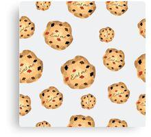 Eat me cookies from Alice in Wonderland Canvas Print