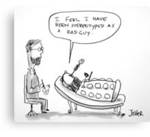 Dalek therapy Canvas Print
