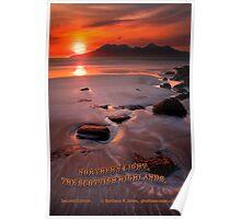 Calendar, Northern Light, The Scottish Highlands, Second Edition. Poster