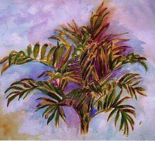 Palm Plant by Shoshonan