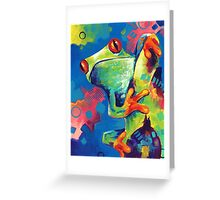 Amazon Frog Greeting Card