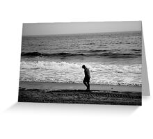 ALONE  ^ Greeting Card
