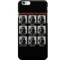 Expression of Vader - Star Wars iPhone Case/Skin