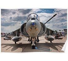 RAF Harrier GR9 Poster