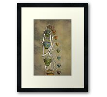 Baubles in the Sky Framed Print