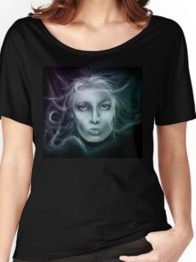 Underwater Female Sketch Women's Relaxed Fit T-Shirt