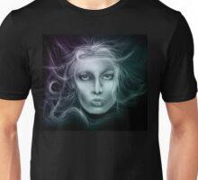 Underwater Female Sketch Unisex T-Shirt