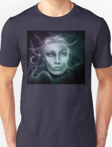Underwater Female Sketch T-Shirt