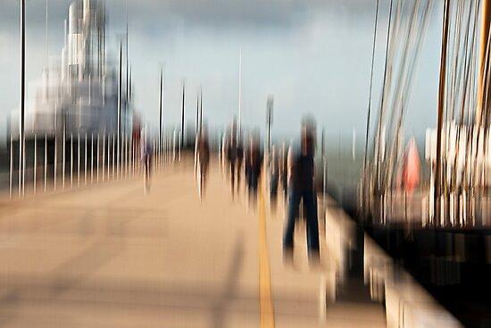 A walk between dreams by LouD