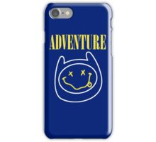 Finn Adventure Time Smile iPhone Case/Skin