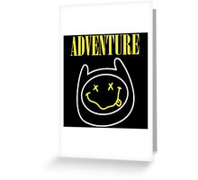 Finn Adventure Time Smile Greeting Card