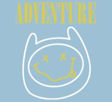 Finn Adventure Time Smile Kids Tee