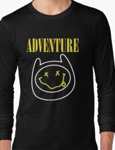 Finn Adventure Time Smile Long Sleeve T-Shirt