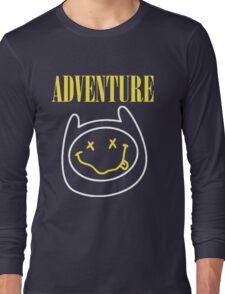 Finn Adventure Time Smile Long Sleeve T-Shirt