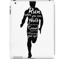 The Runner iPad Case/Skin