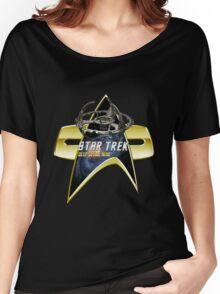 StarTrek Deep Space Nine  Com badge Women's Relaxed Fit T-Shirt
